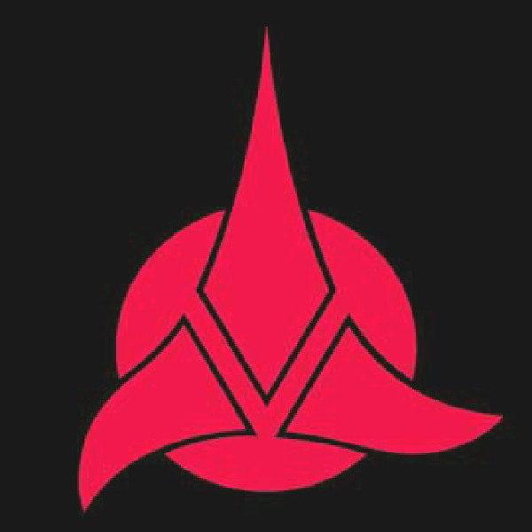 Star Trek Next Generation Klingon Tri Foil Logo T Shirt Starbase