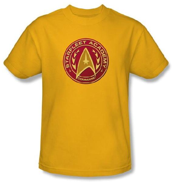 Star Trek TOS Starfleet Academy Command Logo T-Shirt