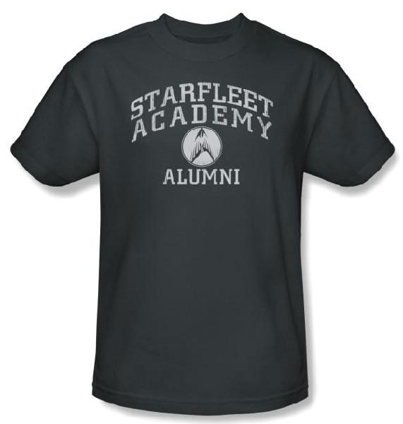 Classic Star Trek Starfleet Academy Alumni T Shirt Starbase Atlanta