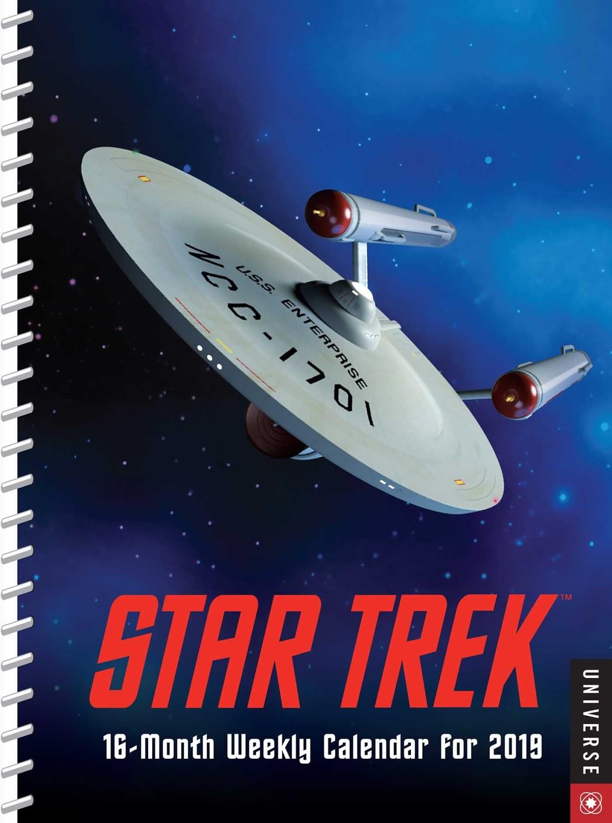 Star Trek 16 Month Stardate 2019 Executive Engagement Weekly