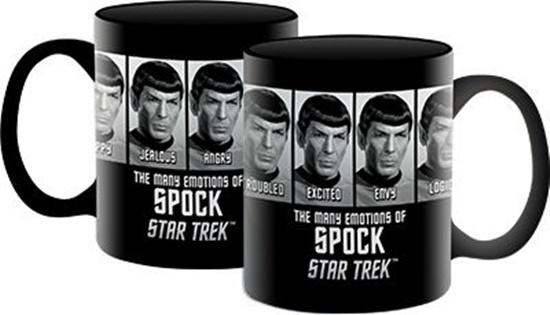 Clic Star Trek The Many Emotions Of Spock Photo Ceramic Coffee Mug