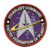 The Motion Picture Movie Engineering Logo Embroidered Patch UNUSED Star Trek