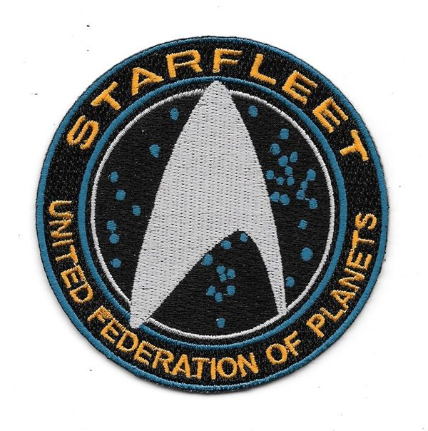 Star Trek Beyond New Movies Starfleet Command Ufp Logo Embroidered