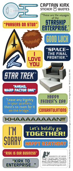 Classic star trek crew blank note greeting cards with sticker quotes classic star trek crew blank note greeting cards with sticker quotes and images bookmarktalkfo Choice Image