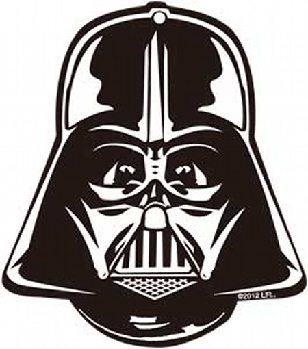 star wars darth vader helmet mask air freshener 2012. Black Bedroom Furniture Sets. Home Design Ideas