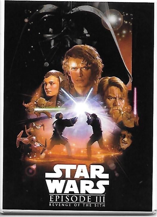 Star Wars Episode Iii Revenge Of The Sith Movie Poster Image Refrigerator Magnet Starbase Atlanta