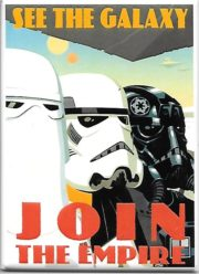Star Wars Loose Lips Bring Down Starships Poster Image Refrigerator Magnet NEW