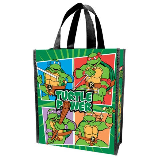 Age Mutant Ninja Turtles Turtle Small Recycled Tote Bag