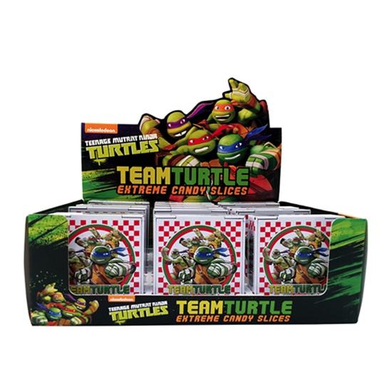 Teenage Mutant Ninja Turtles Candy Sours Set of 4 in Embossed Metal Tins SEALED