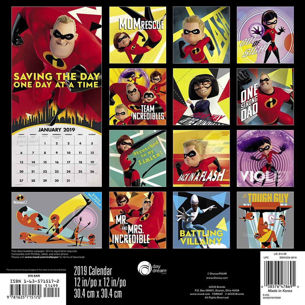 Disney / pixar the incredibles 2 #1 by christos gage & landry.