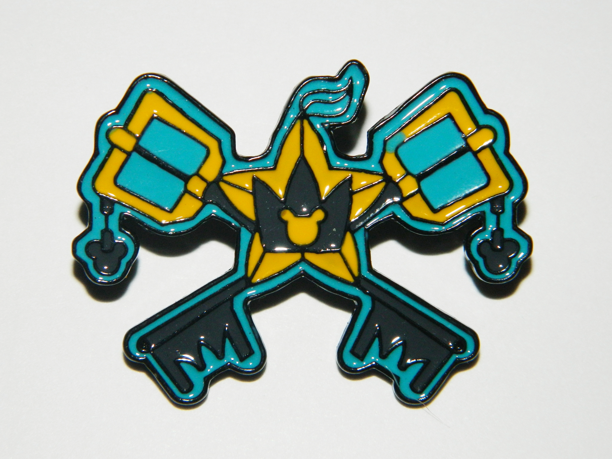 Kingdom of Hearts Sora's Keyblade Logo Embroidered Patch