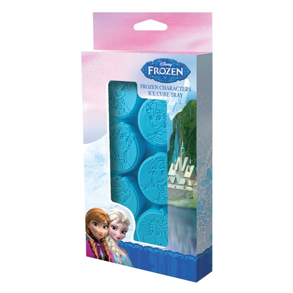 Walt Disney Frozen Movie Characters Images Ice Cube Tray With 6 Slots