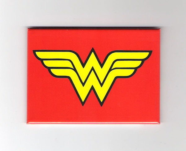 NEW UNUSED DC Comic/'s Wonder Woman Logo Peel Off Image Sticker Decal